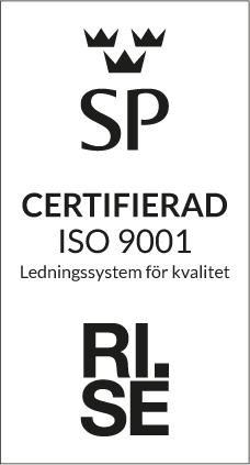 RISE certifiering Logga